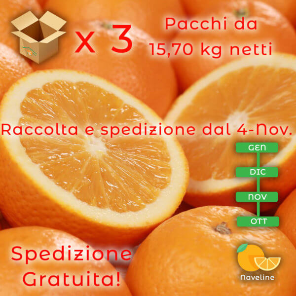 Arance Naveline - Arancia Mia