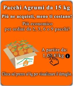 Pacchi Agrumi da 15kg - arancia mia