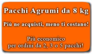 Pacchi Agrumi da 8 kg - arancia mia