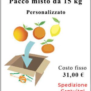 Pacco misto pers.15 - arancia mia