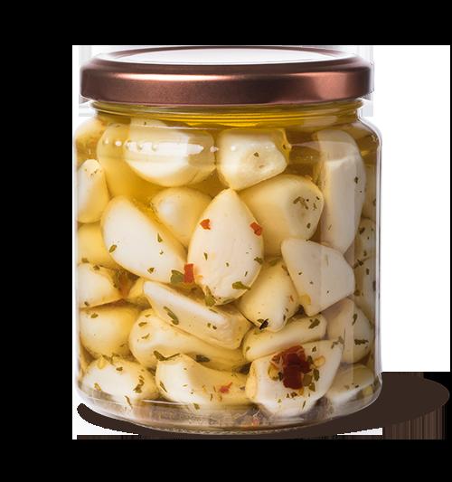 aglio a spicchi - Arancia Mia