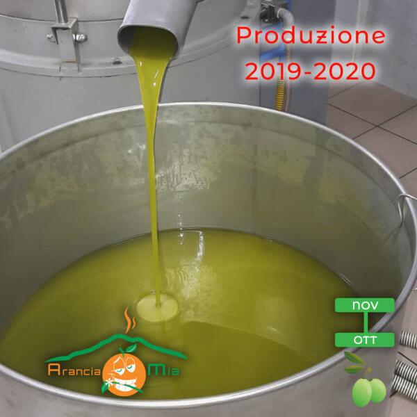 olio extra vergine di oliva - Arancia Mia